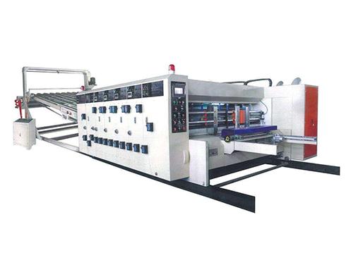 五色水性印刷开槽模切机