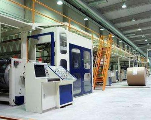 湖北京山高速瓦楞纸板生产线