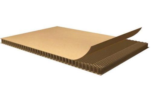 蜂窝纸板生产